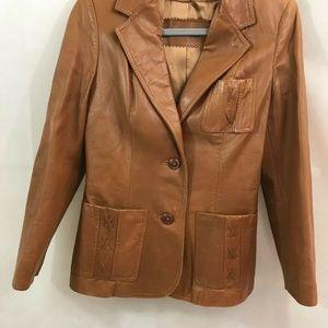 Skin Gear Leather Coat